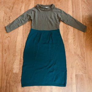 Boden Alexa Wool Roll Neck Sweater Dress 6R